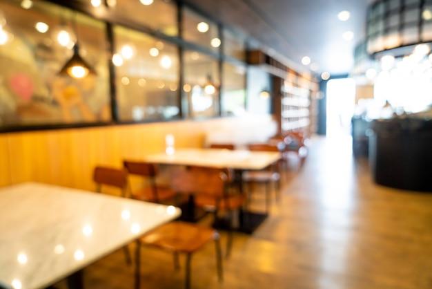 Café restaurant verwischen Premium Fotos