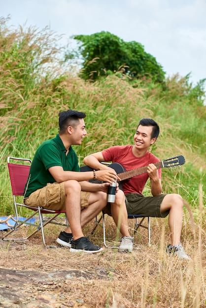 Campingfreunde Kostenlose Fotos