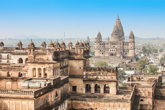 Chaturbhuj-tempel, orchha Premium Fotos