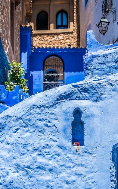 Chefchaouen, marokko Premium Fotos