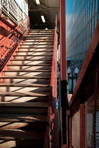 Chicago treppenhaus Premium Fotos