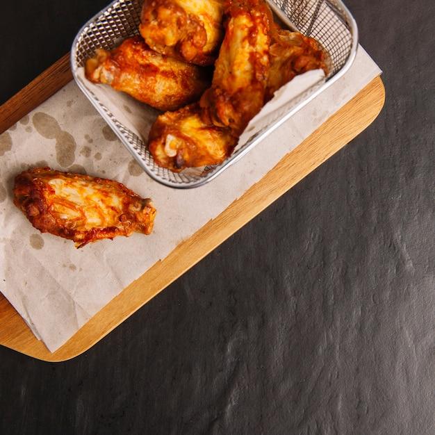Chicken wings close up Kostenlose Fotos