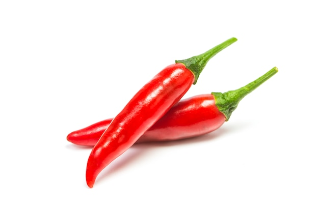 Chili-pfeffer isoliert Kostenlose Fotos