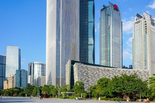 China city river geschäftsansicht Kostenlose Fotos