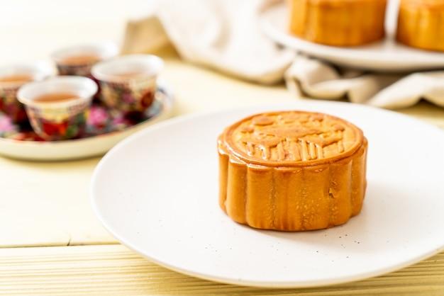 Chinesischer mondkuchen für chinesisches mittherbstfest Premium Fotos