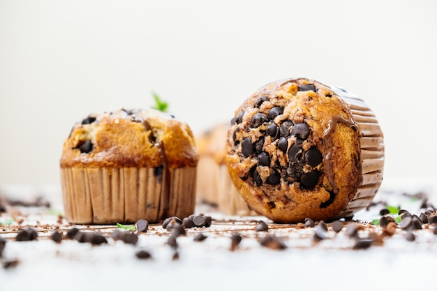 Chocolate chip muffin Kostenlose Fotos
