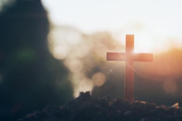 Christlich, christentum, religion hintergrund. Kostenlose Fotos