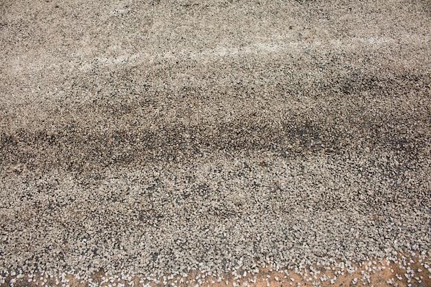 Close-up asphalt auf der straße im bau. Premium Fotos