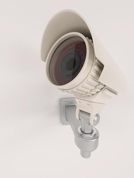 Close up der berwachungskamera an der wand download der - Fotos an der wand ...