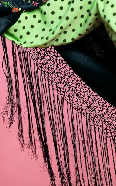 Close-up manila schal fransen Kostenlose Fotos