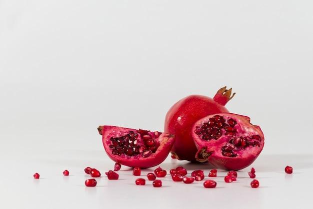 Close-up von leckeren granatapfel Kostenlose Fotos