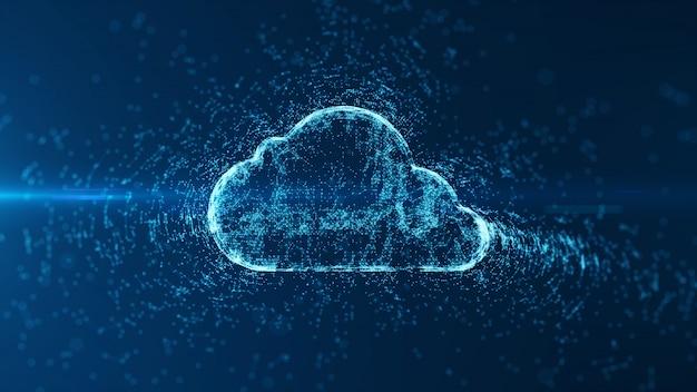 Cloud computing und big data. Premium Fotos