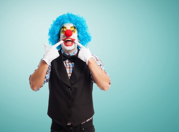 Clown lächelnd Kostenlose Fotos