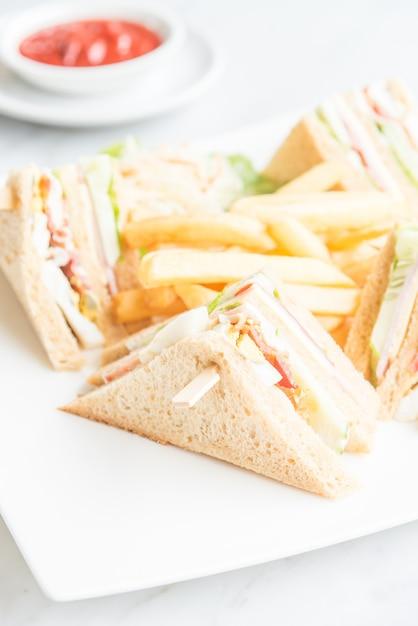 Club-sandwiches Kostenlose Fotos