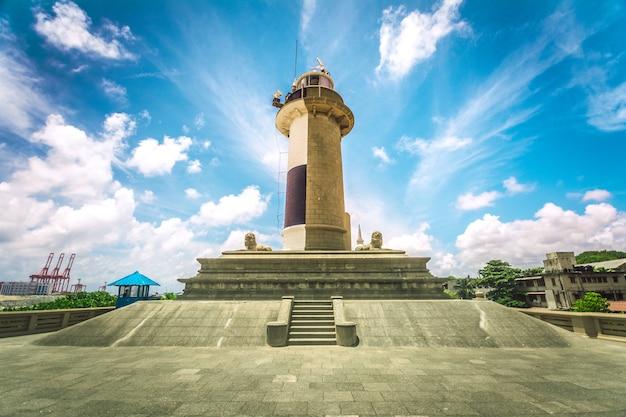 Colombo leuchtturm sri lanka Premium Fotos