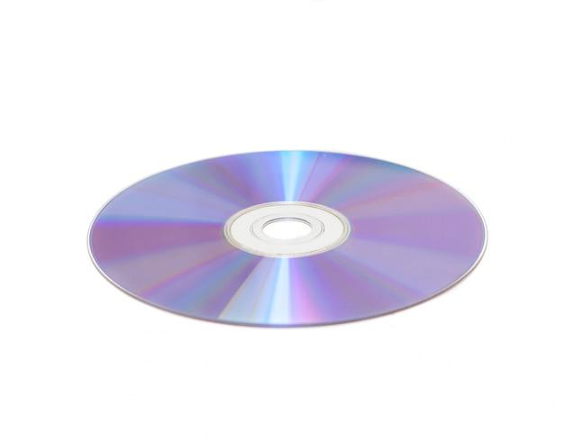 Compact disc mit weißem hintergrund Kostenlose Fotos