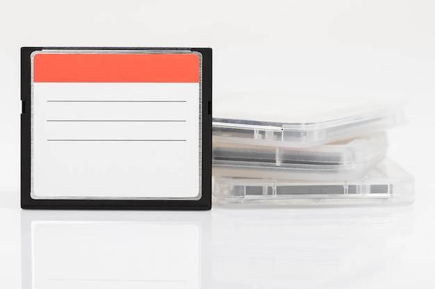 Compact-flash-speicherkarten Premium Fotos