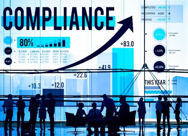 Compliance-regeln gesetz folgen verordnung konzept Kostenlose Fotos