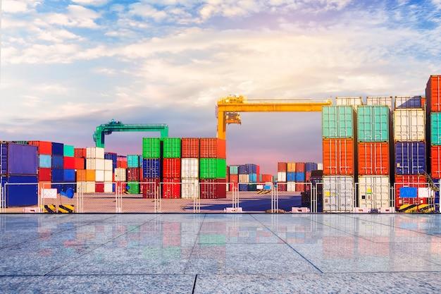Container-terminal? kai, transport Kostenlose Fotos