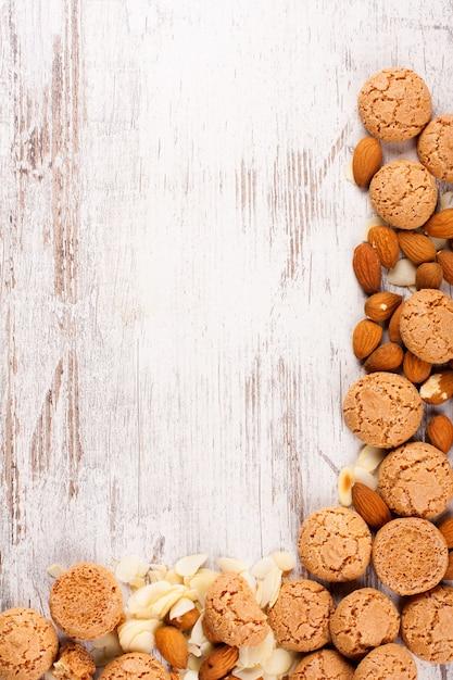 Cookies hintergrund Premium Fotos