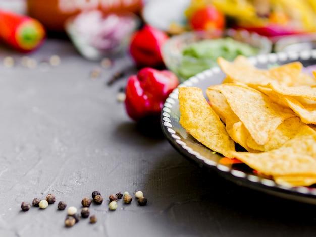 Corn chips mit pfeffer Kostenlose Fotos