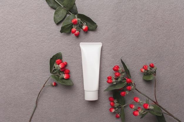 Creame flasche Premium Fotos