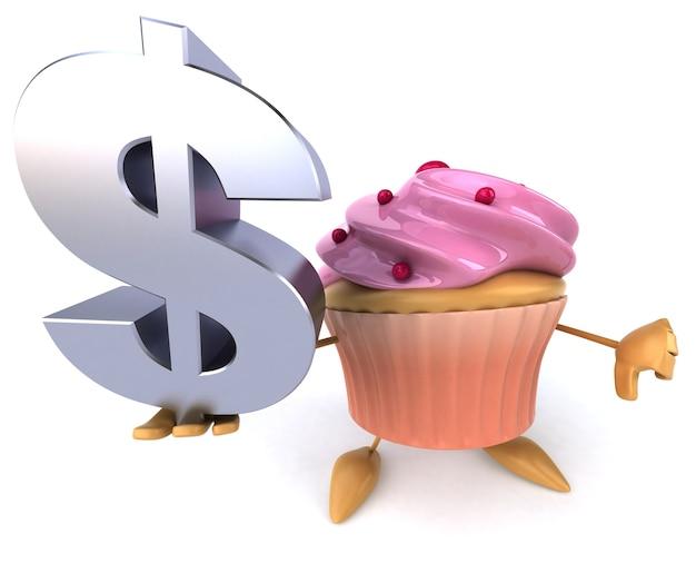 Cupcake-animation Premium Fotos