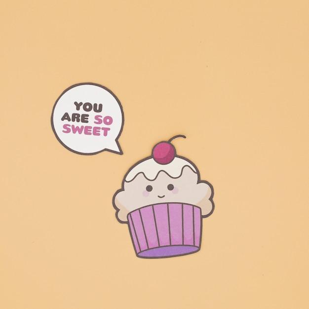 Cupcake sprechen Kostenlose Fotos
