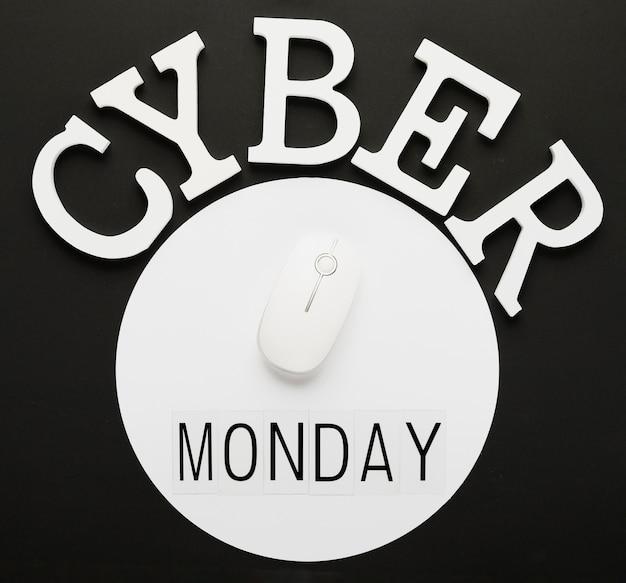 Cyber montag nachricht mit der maus Kostenlose Fotos