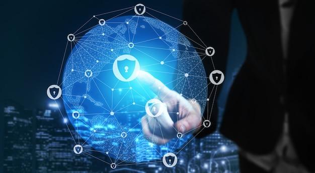 Cybersicherheit und schutz digitaler daten Premium Fotos