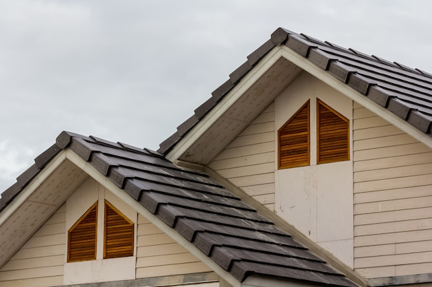 Dach startseite Premium Fotos