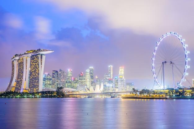 Dämmerung himmel rad asiatische marina Kostenlose Fotos
