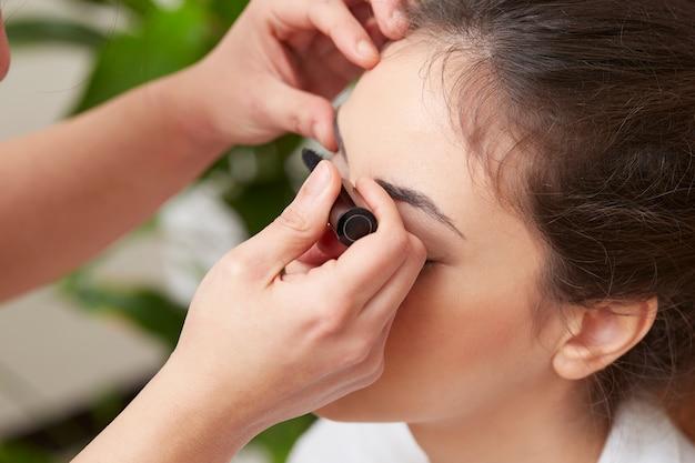 Das kosmetikerzutreffen bilden Premium Fotos
