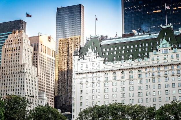 Das plaza hotel in new york, usa Kostenlose Fotos