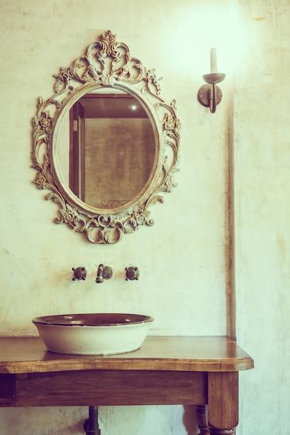 Dekoration Spiegel Badezimmer Objekt Dekorativ Download Der