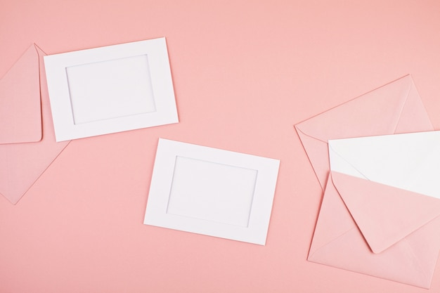Dekorativer minimaler pastellhintergrund Premium Fotos