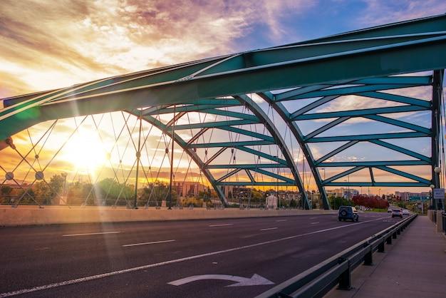 Denver brücke verkehr Kostenlose Fotos