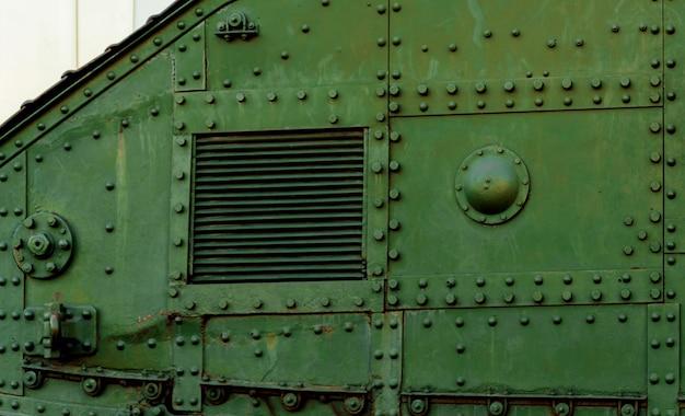 Der alte britische panzer. erster weltkrieg. Premium Fotos