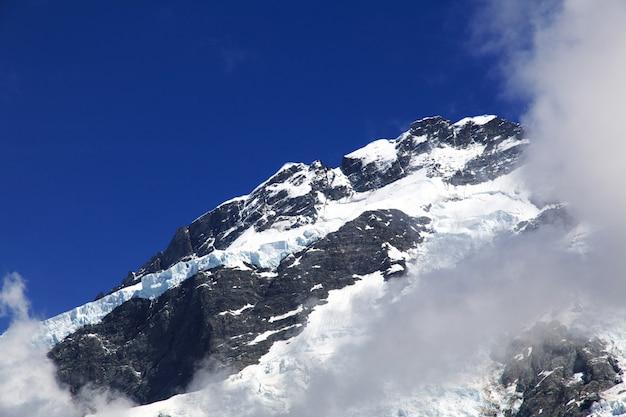 Der berg auf der südinsel, neuseeland Premium Fotos
