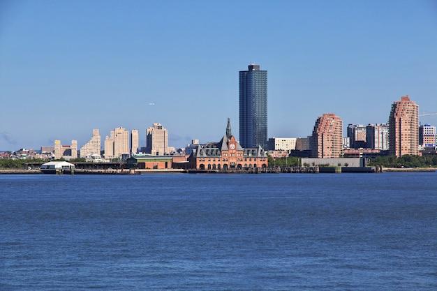 Der blick auf die innenstadt, new york, usa Premium Fotos