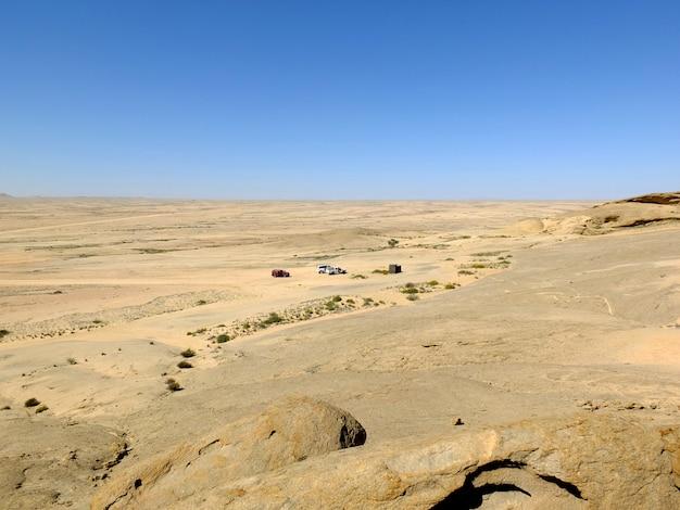 Der blick auf die wüste, windhoek, namibia Premium Fotos