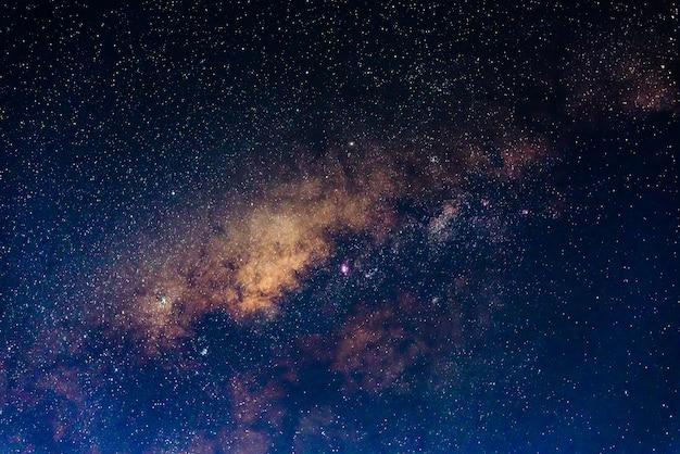 Der kern der milchstraße Premium Fotos