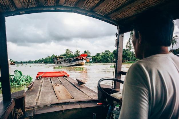 Der mekong, vietnam Premium Fotos
