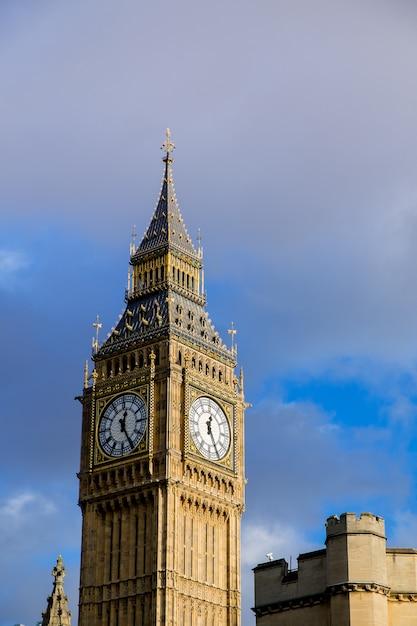 Der palast von westminster big ben, london, england, großbritannien Premium Fotos