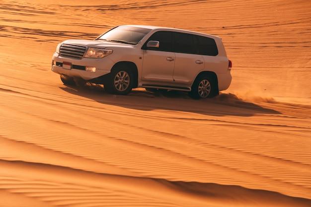 Desert dune bashing Premium Fotos