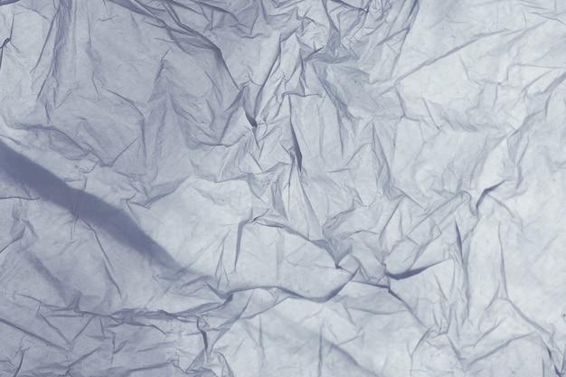 Detail der beschaffenheit einer blauen plastiktasche Premium Fotos