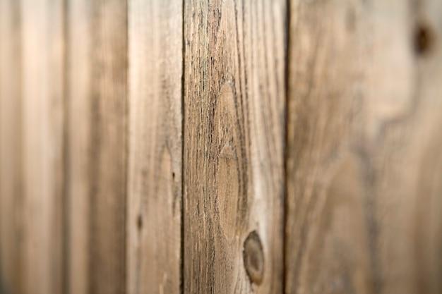Detail der rustikalen holztäfelung mit knoten-löchern Premium Fotos