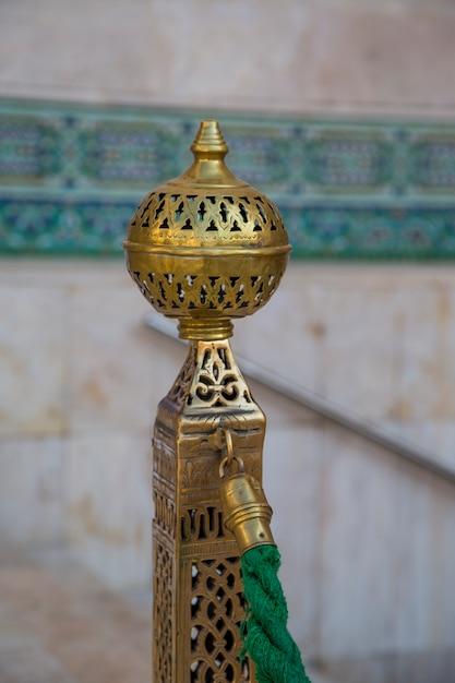 Detail von moschee hassan ii in casablanca Premium Fotos