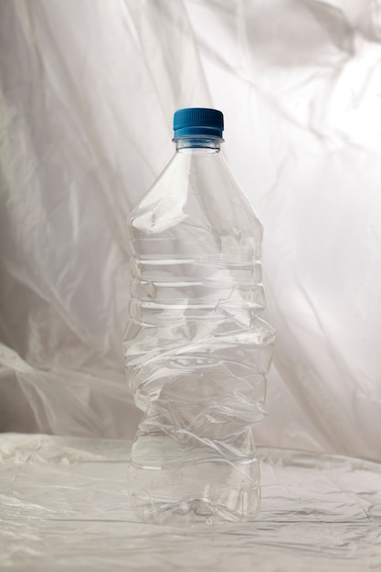 Detail von plastikflaschen für die wiederverwertung. Kostenlose Fotos