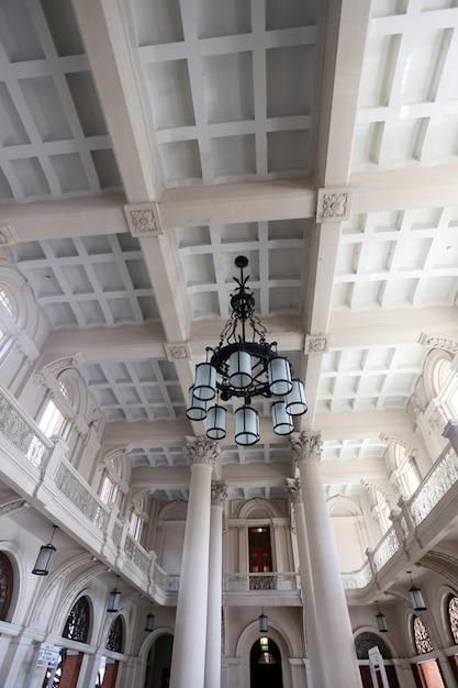 Details der halle des gebäudes luz station, sao paulo, brasilien Premium Fotos